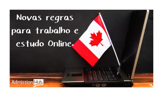 Novas regras para estudar no Canadá