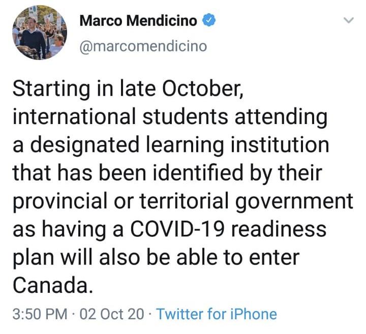 tweet Canada